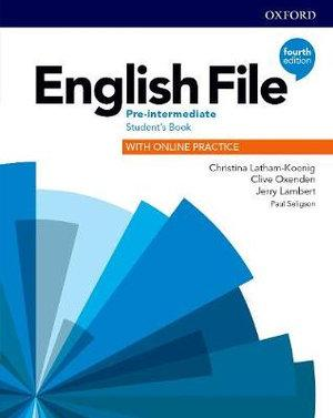 English File Pre-intermediate Student's Book and Student Resource Centre Pack