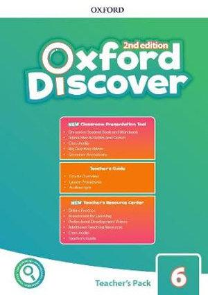 Oxford Discover: Level 6. Teacher's Pack