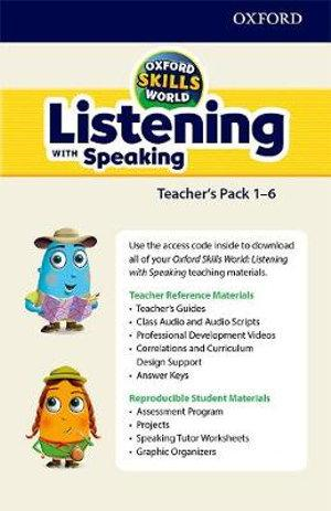 Oxford Skills Series: Listening & Speaking a Digital Teachers Support Pack