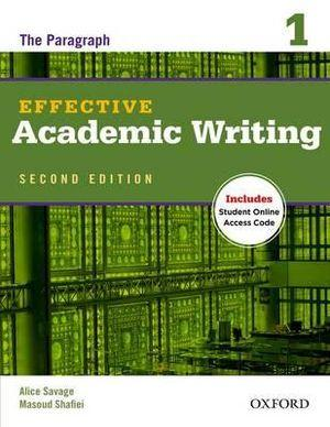 Effective Academic Writing 1 Student Book with Online Access Code