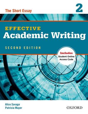 Effective Academic Writing 2 Student Book with Online Access Code
