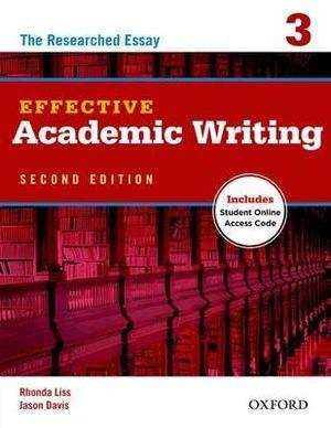 Effective Academic Writing 3 Student Book with Online Access Code