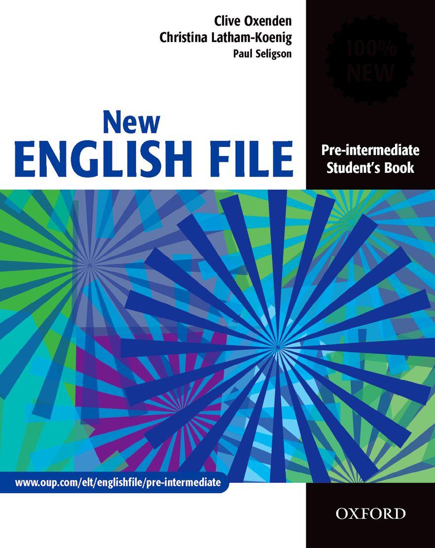 New English File Pre-Intermediate Student Book