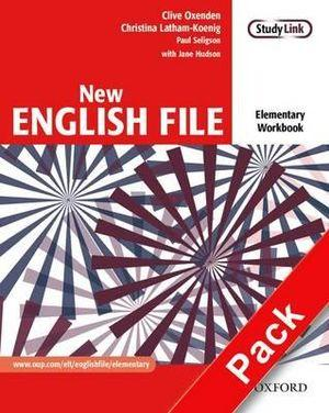 New English File Elementary Workbook with Multirom