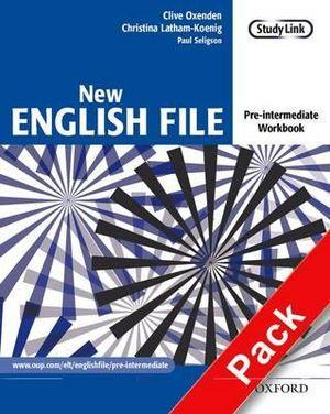 New English File Pre-Intermediate Workbook with Multirom