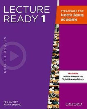 Lecture Ready 1 Student Book Pack