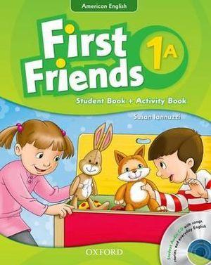 American First Friends 1 Student's Book / Workbook & CD Pack A