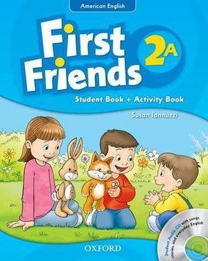 American First Friends 2 Student's Book / Workbook & CD Pack A