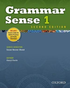 Grammar Sense 1 Student Book with Online Practice Access Code Card