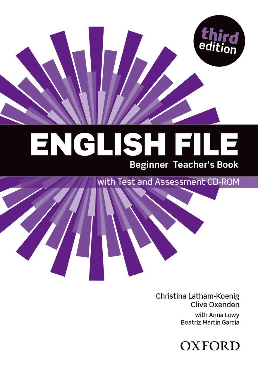 English File Beginner Teacher Book with Test Assessment CD