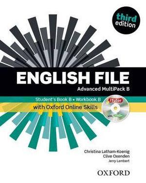 English File Advanced MultiPACK B with iTutor and Online Skills