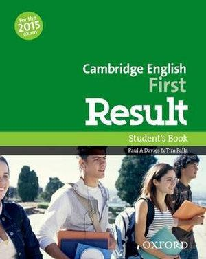 Cambridge English: First Result Student's Book