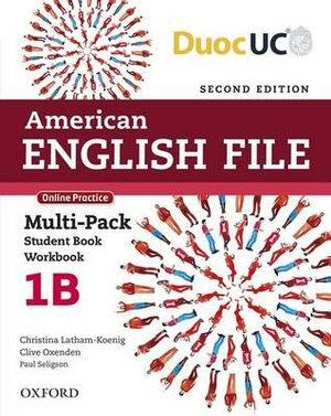 American English File Level 1 Multi-pack B
