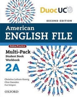 American English File Level 2 Multi-pack A