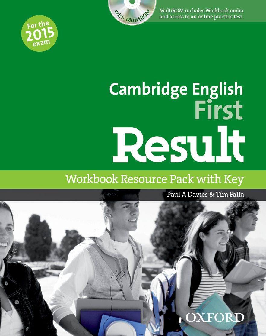 Cambridge English: First Result Workbook + Key & Student CD-ROM Pack