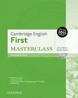 Cambridge English: First Masterclass Workbook