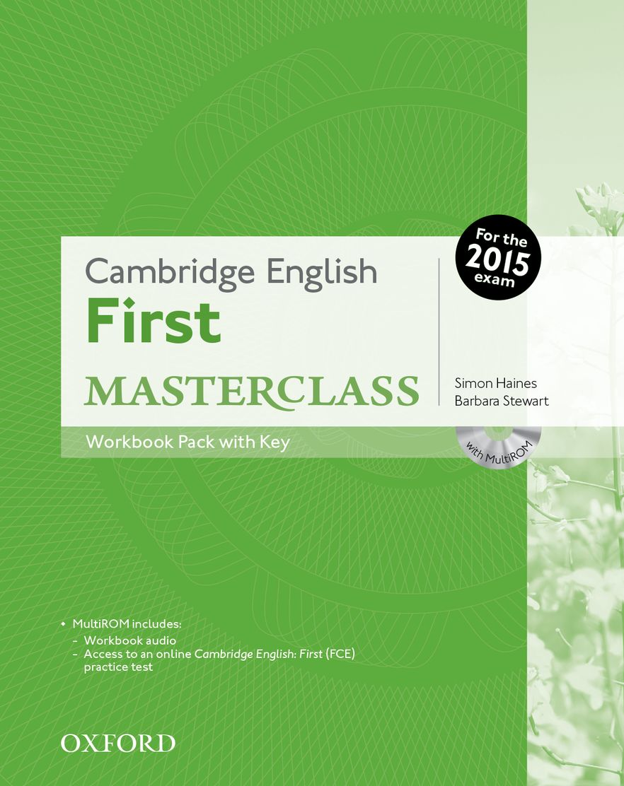 Cambridge English: First Masterclass Workbook Resource Pacl with Key and Audio C