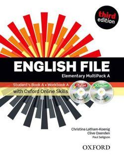 English File Elementary Multipack A with iTutor and Online Skills