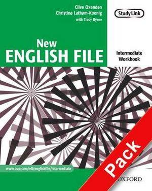 New English File Intermediate Workbook with Multirom