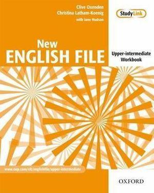 New English File Upper-Intermediate Workbook Without Key