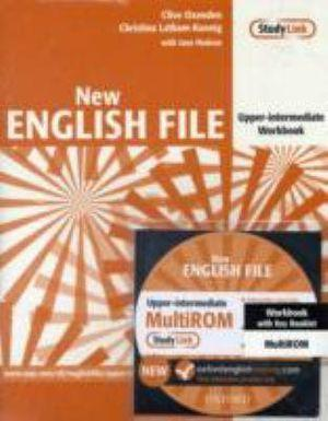 New English File Upper-Intermediate Workbook with Answer Booklet Multirom