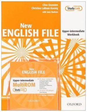 New English File Upper-Intermediate Workbook with Multirom Pack