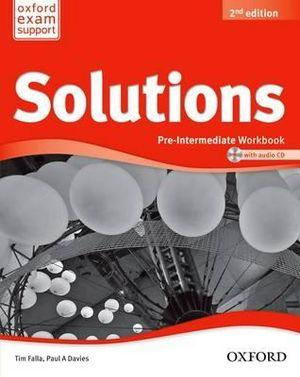 Solutions Pre-Intermediate Workbook and Audio CD Pack