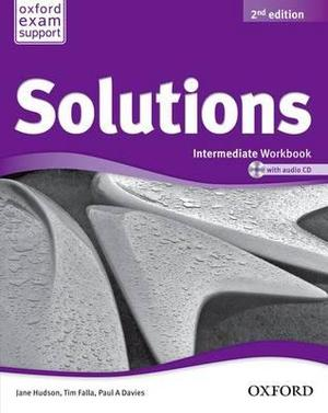 Solutions Intermediate Workbook and Audio CD Pack