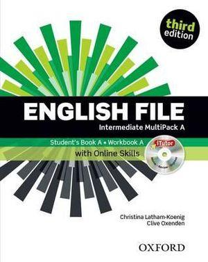 English File Intermediate Multipack A with iTutor and Online Skills