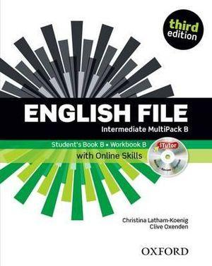English File Intermediate Multipack B with iTutor and Online Skills