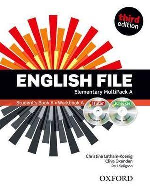 English File Elementary Multipack A with iTutor and iChecker