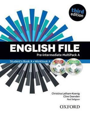 English File Pre-Intermediate MultiPACK A with iTutor and iCheck