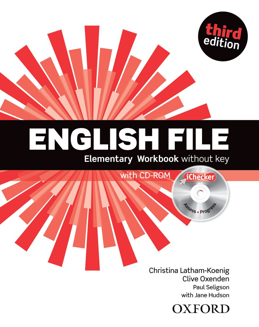 English File Elementary Workbook and iChecker Pack Without Key
