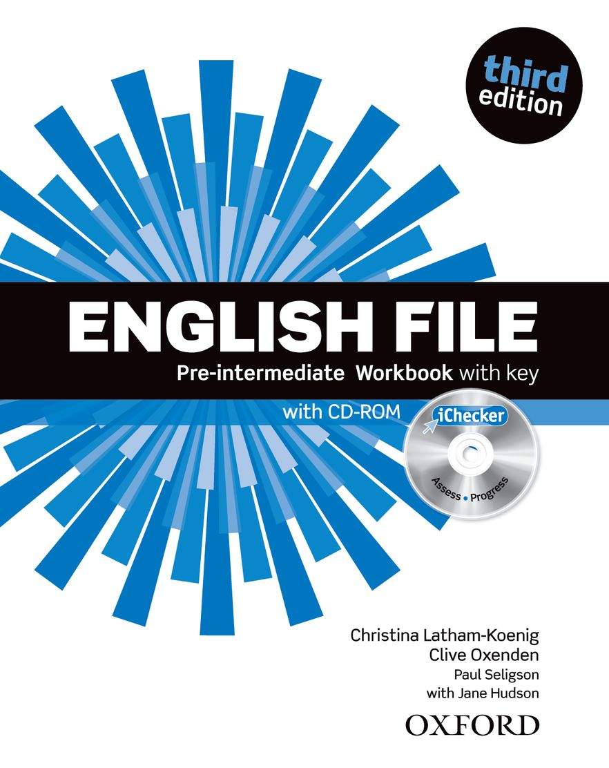 English File Pre-Intermediate Workbook with key and iChecker