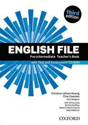 English File Pre-Intermediate Teacher's Book with Test and Assessment