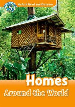 Oxford Read and Discover 5 Homes Around the World Audio CD Pack