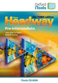 New Headway Pre-Intermediate iTools Pack