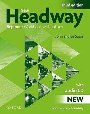 New Headway Beginner Workbook Without Key Pack