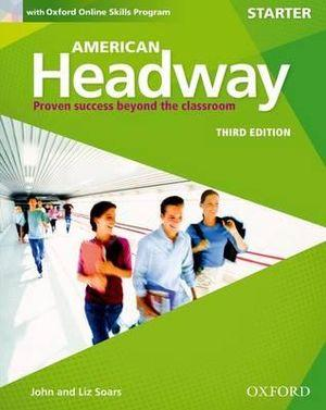 American Headway Starter Student's Book & Oxford Online Skills Program Pack