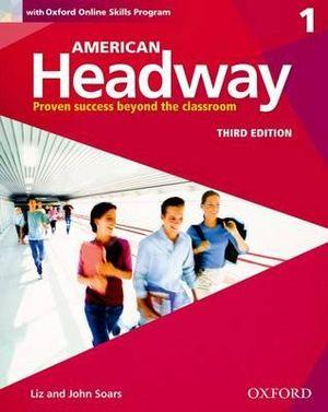 American Headway 1 Students Book + Oxford Online Skills Program Pack