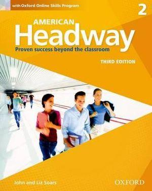 American Headway 2 Students Book + Oxford Online Skills Program Pack