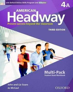 American Headway 4A Multi Pack