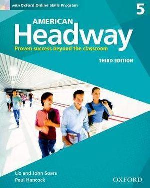 American Headway 5 Students Book and Oxford Online Skills Program Pack