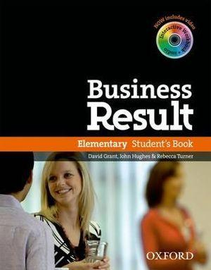 Business Result Elementary Student Book & DVD Pack