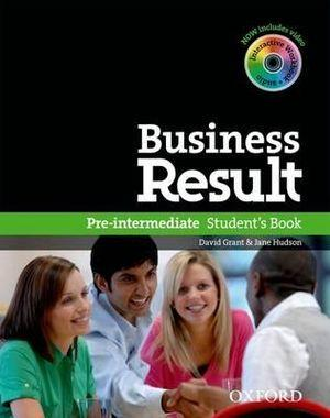 Business Result Pre-Intermediate Student Book & DVD Pack