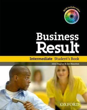 Business Result Intermediate Student Book & DVD Pack
