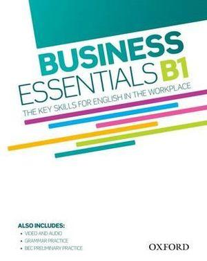 Business Essentials B1 Student's Book and DVD and Audio Pack