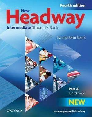New Headway Intermediate Students Book A