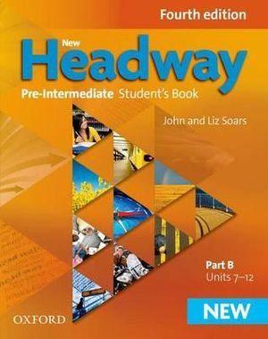 New Headway Pre-Intermediate Student Book B