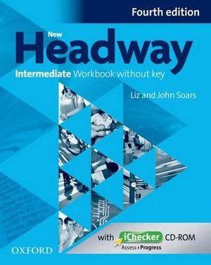 New Headway Intermediate Workbook Without Key & iChecker CD-ROM Pack